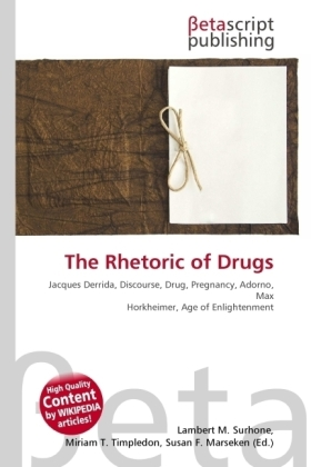 The Rhetoric of Drugs | Dodax.de