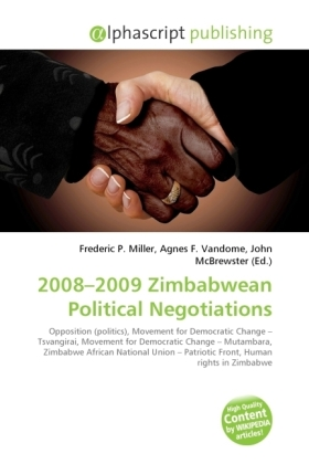 2008 - 2009  Zimbabwean Political Negotiations | Dodax.de