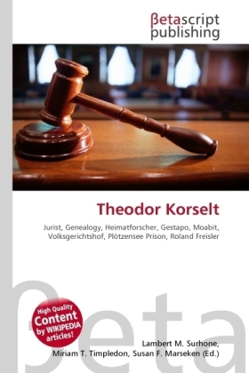 Theodor Korselt | Dodax.at