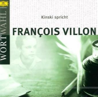 Kinski spricht Francois Villon, 1 Audio-CD | Dodax.at