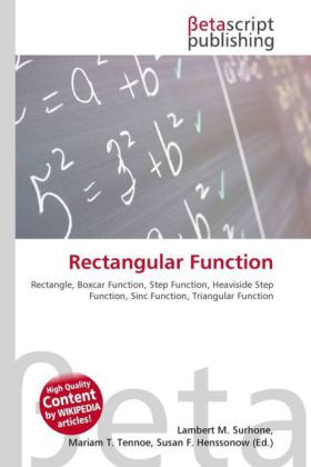 Rectangular Function | Dodax.ch
