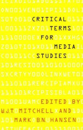 Critical Terms for Media Studies | Dodax.de