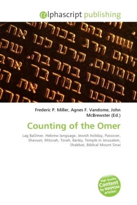 Counting of the Omer | Dodax.ch
