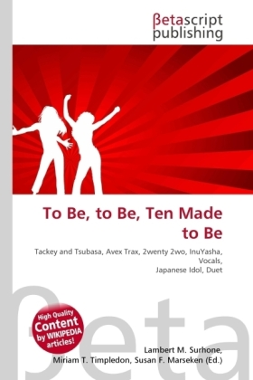 To Be, to Be, Ten Made to Be | Dodax.at