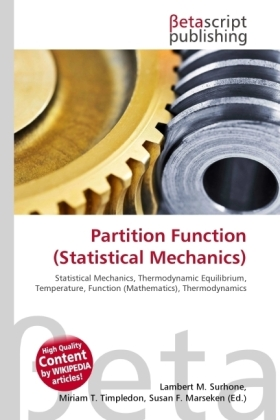 Partition Function (Statistical Mechanics) | Dodax.ch