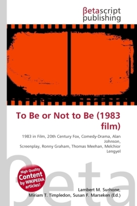 To Be or Not to Be (1983 film) | Dodax.ch