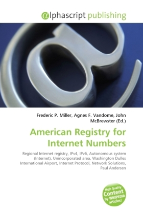 American Registry for Internet Numbers | Dodax.ch