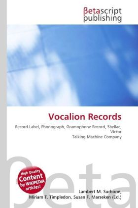 Vocalion Records | Dodax.at