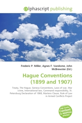 Hague Conventions (1899 and 1907) | Dodax.at