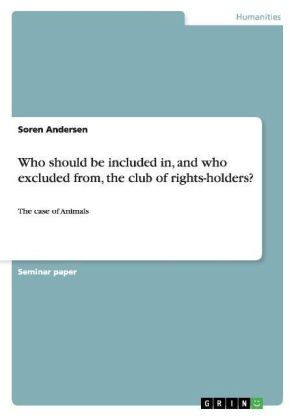 Who should be included in, and who excluded from, the club of rights-holders?   Dodax.ch