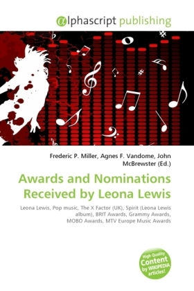 Awards and Nominations Received by Leona Lewis | Dodax.ch