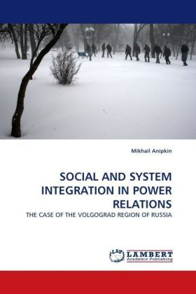 SOCIAL AND SYSTEM INTEGRATION IN POWER RELATIONS | Dodax.de