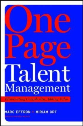 One Page Talent Management | Dodax.at