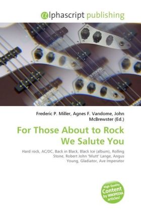 For Those About to Rock We Salute You   Dodax.at