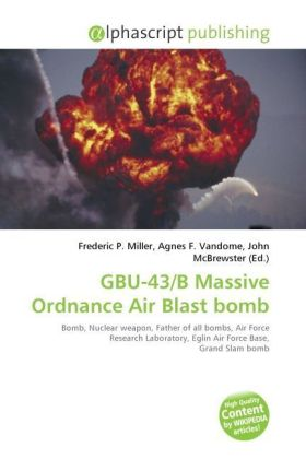 GBU-43/B Massive Ordnance Air Blast bomb | Dodax.at