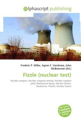 Fizzle (nuclear test) | Dodax.at