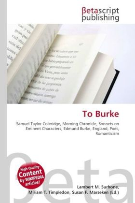 To Burke | Dodax.at