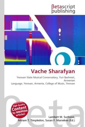 Vache Sharafyan | Dodax.at