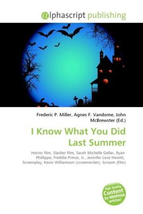 I Know What You Did Last Summer | Dodax.ch