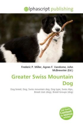 Greater Swiss Mountain Dog | Dodax.de