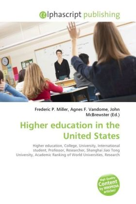 Higher education in the United States   Dodax.ch