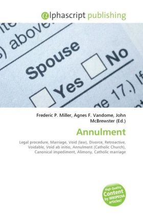 Annulment | Dodax.at