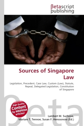 Sources of Singapore Law | Dodax.ch