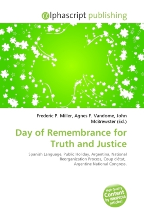 Day of Remembrance for Truth and Justice | Dodax.at