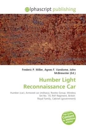Humber Light Reconnaissance Car | Dodax.at