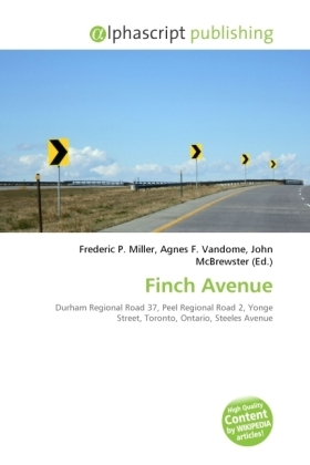 Finch Avenue | Dodax.de