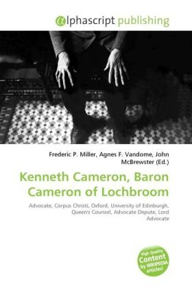 Kenneth Cameron, Baron Cameron of Lochbroom | Dodax.at