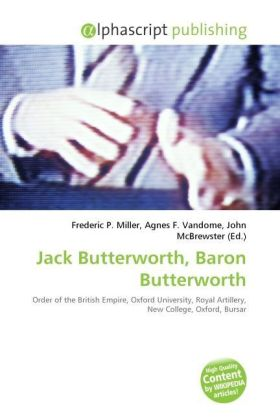 Jack Butterworth, Baron Butterworth | Dodax.at