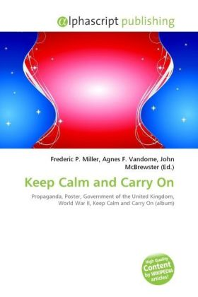 Keep Calm and Carry On | Dodax.at
