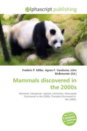 Mammals discovered in the 2000s | Dodax.at