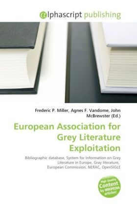 European Association for Grey Literature Exploitation | Dodax.at