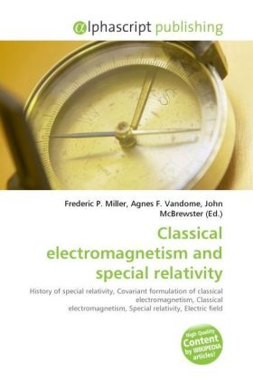 Classical electromagnetism and special relativity | Dodax.at