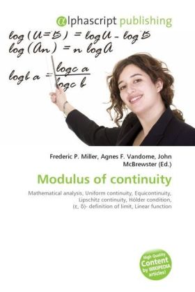 Modulus of continuity | Dodax.at