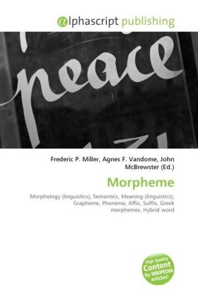 Morpheme | Dodax.at