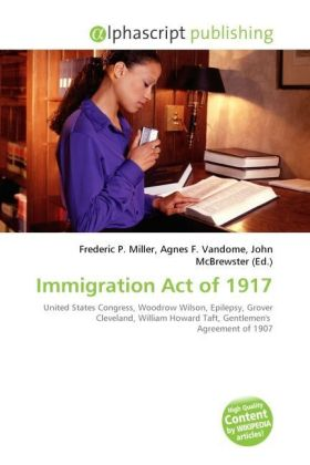 Immigration Act of 1917 | Dodax.ch