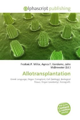 Allotransplantation | Dodax.de