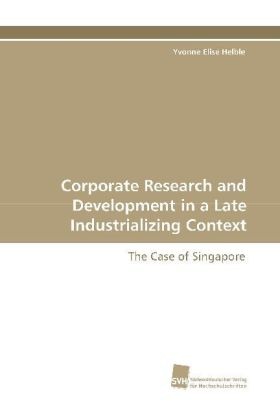 Corporate Research and Development in a Late Industrializing Context | Dodax.ch
