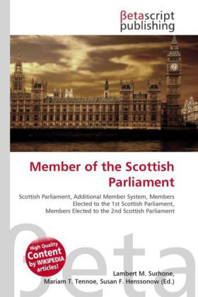 Member of the Scottish Parliament | Dodax.at