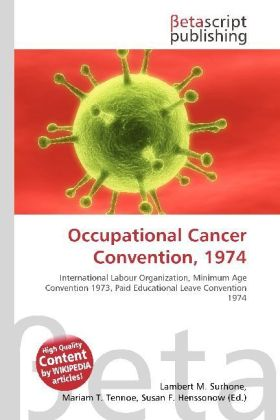Occupational Cancer Convention, 1974 | Dodax.at