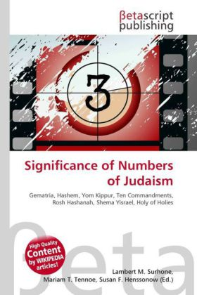 Significance of Numbers of Judaism | Dodax.ch