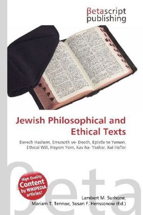 Jewish Philosophical and Ethical Texts | Dodax.at