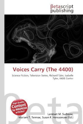 Voices Carry (The 4400) | Dodax.de