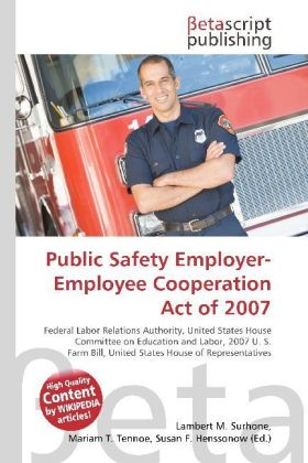 Public Safety Employer-Employee Cooperation Act of 2007 | Dodax.pl