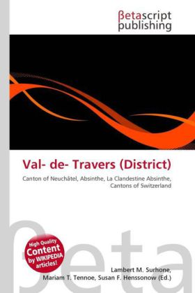 Val- de- Travers (District) | Dodax.at