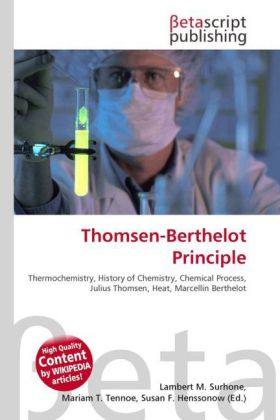 Thomsen-Berthelot Principle | Dodax.pl