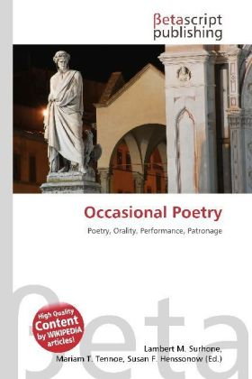 Occasional Poetry | Dodax.at